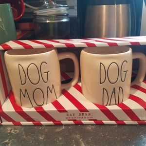 Cute dog mom/dog dad Rae Dunn mugs